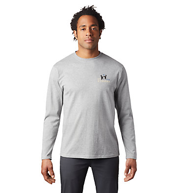 Men's Hotel Basecamp™ Long Sleeve T-Shirt Hotel Basecamp™ Long Sleeve T | 354 | L, Heather Manta Grey, front
