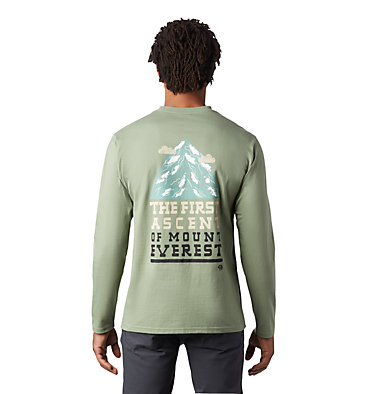 Men's Hotel Basecamp™ Long Sleeve T-Shirt Hotel Basecamp™ Long Sleeve T | 354 | L, Field, back