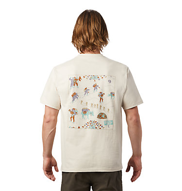 Men's Hotel Basecamp™ Short Sleeve T-Shirt Hotel Basecamp™ Short Sleeve T | 441 | L, Lightlands, back