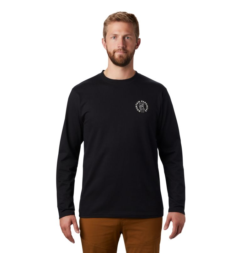 MHW Treasure Chest™ Long Sleeve T | 010 | M Men's MHW Treasure Chest™ Long Sleeve T-Shirt, Black, front