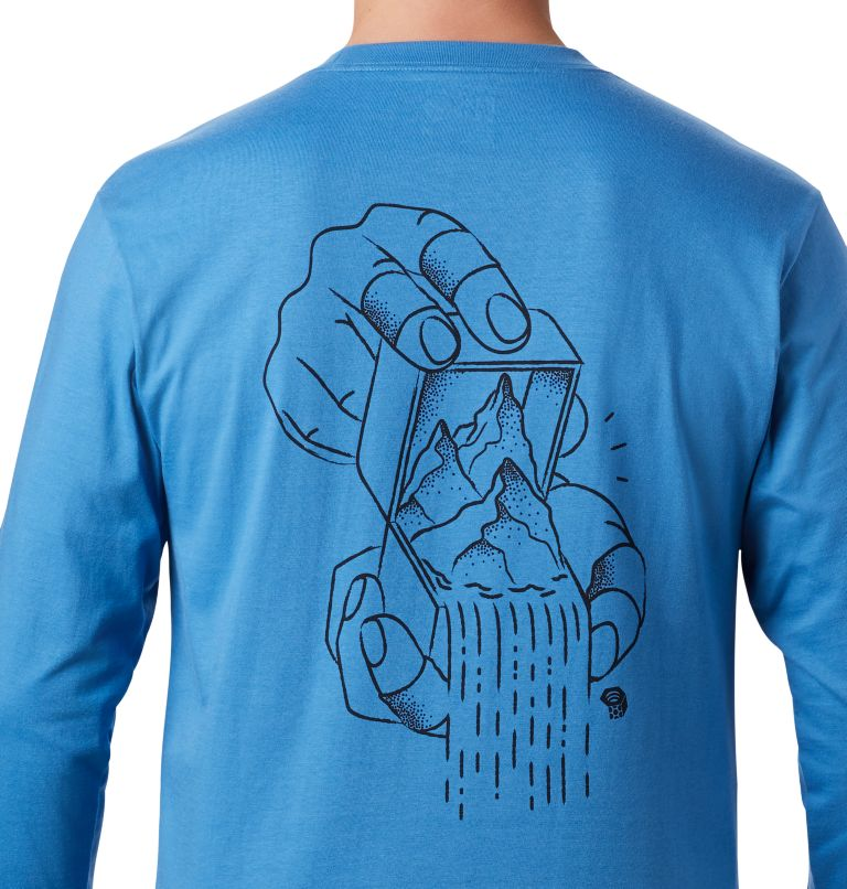 MHW Treasure Chest™ Long Sleeve T | 451 | M Men's MHW Treasure Chest™ Long Sleeve T-Shirt, Deep Lake, a2