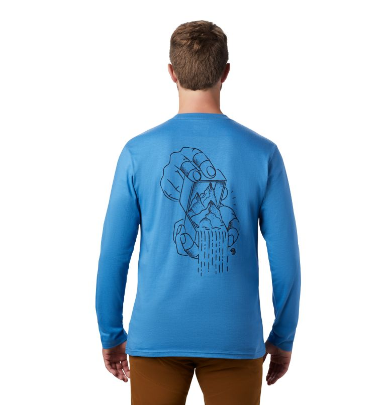 MHW Treasure Chest™ Long Sleeve T | 451 | S Men's MHW Treasure Chest™ Long Sleeve T-Shirt, Deep Lake, back