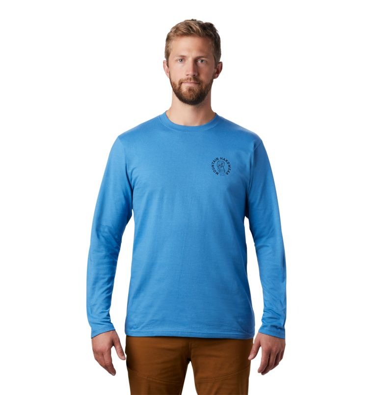 MHW Treasure Chest™ Long Sleeve T | 451 | S Men's MHW Treasure Chest™ Long Sleeve T-Shirt, Deep Lake, front