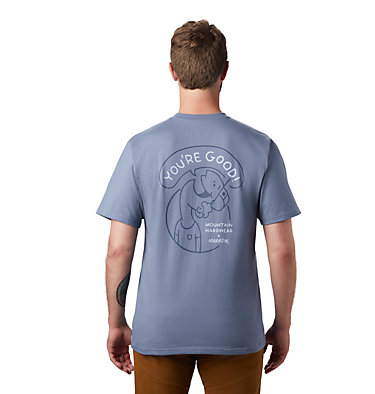 Men's MHW/Marrow™ Short Sleeve Pocket T-Shirt MHW/Marrow™ Short Sleeve Pocket T | 441 | L, Light Zinc, back