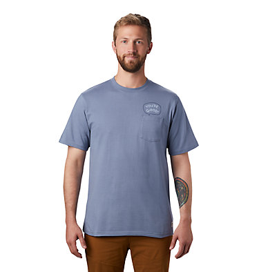 Men's MHW/Marrow™ Short Sleeve Pocket T-Shirt MHW/Marrow™ Short Sleeve Pocket T | 441 | L, Light Zinc, front