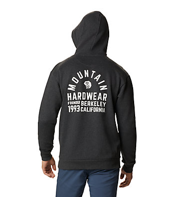 Men's Berkeley 93™ Pullover Hoody Berkeley 93™ Pullover Hoody | 407 | M, Heather Black, back