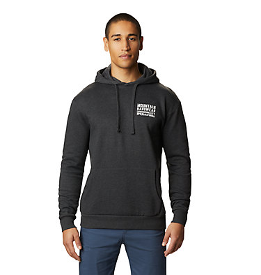 Men's Berkeley 93™ Pullover Hoody Berkeley 93™ Pullover Hoody | 407 | M, Heather Black, front