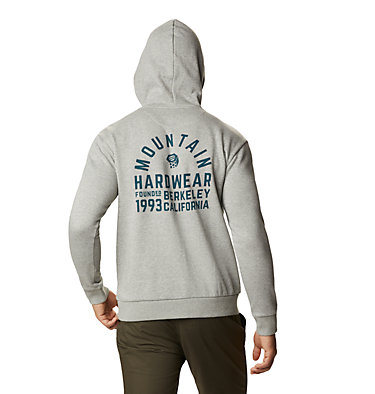 Men's Berkeley 93™ Pullover Hoody Berkeley 93™ Pullover Hoody | 407 | M, Heather Manta Grey, back