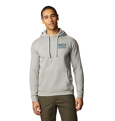 Men's Berkeley 93™ Pullover Hoody Berkeley 93™ Pullover Hoody | 407 | M, Heather Manta Grey, front