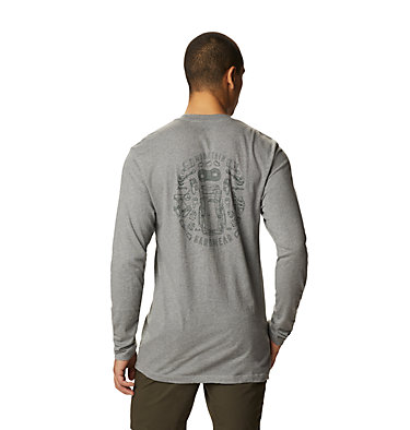 Men's MHW Gear™ Long Sleeve T-Shirt MHW Gear™ Long Sleeve T | 011 | L, Heather Manta Grey, back