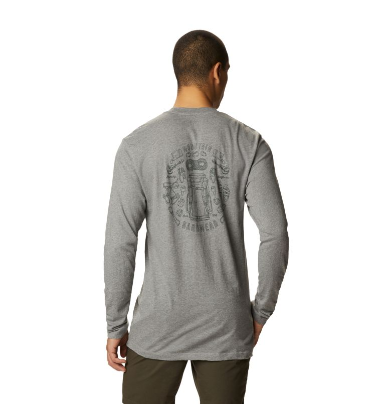 Men's MHW Gear™ Long Sleeve T-Shirt Men's MHW Gear™ Long Sleeve T-Shirt, back