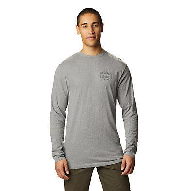 Men's MHW Gear™ Long Sleeve T-Shirt MHW Gear™ Long Sleeve T | 011 | L, Heather Manta Grey, front