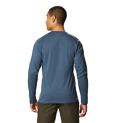 Men's Classic MHW Logo™ Long Sleeve T-Shirt Classic MHW Logo™ Long Sleeve T | 492 | L, Zinc, back