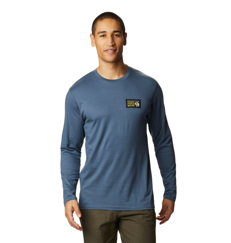 Classic MHW Logo™ Long Sleeve T | 492 | M Men's Classic MHW Logo™ Long Sleeve T-Shirt, Zinc, front
