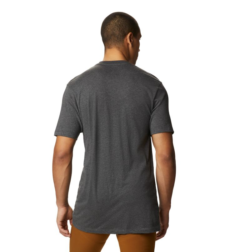 Classic MHW Logo™ Short Sleeve T | 011 | M Men's Classic MHW Logo™ Short Sleeve T-Shirt, Heather Black, back
