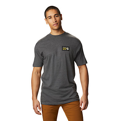 Men's Classic MHW Logo™ Short Sleeve T-Shirt Classic MHW Logo™ Short Sleeve T | 831 | L, Heather Black, front