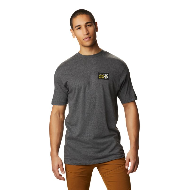 Classic MHW Logo™ Short Sleeve T | 011 | S Men's Classic MHW Logo™ Short Sleeve T-Shirt, Heather Black, front