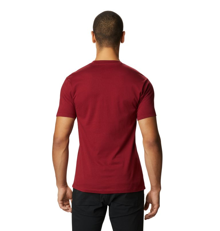 Classic MHW Logo™ Short Sleeve T | 831 | XS Men's Classic MHW Logo™ Short Sleeve T-Shirt, Desert Red, back