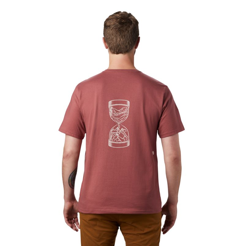 Men's Mtn & Sea Hourglass™ Short Sleeve T-Shirt Men's Mtn & Sea Hourglass™ Short Sleeve T-Shirt, back