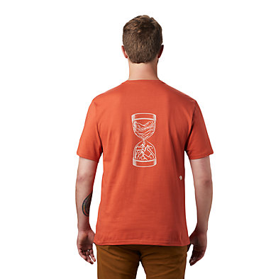 Men's Mtn & Sea Hourglass™ Short Sleeve T-Shirt Mtn & Sea Hourglass™ Short Sleeve T | 010 | L, Dark Clay, back