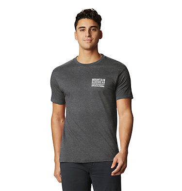 Men's Berkeley 93™ Short Sleeve T-Shirt Berkeley 93™ Short Sleeve T | 011 | L, Heather Black, front