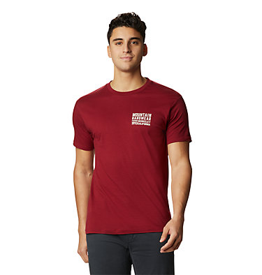 Men's Berkeley 93™ Short Sleeve T-Shirt Berkeley 93™ Short Sleeve T | 011 | L, Desert Red, front