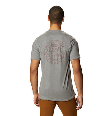 Men's MHW Gear™ Short Sleeve T-Shirt MHW Gear™ Short Sleeve T | 492 | XL, Heather Manta Grey, back