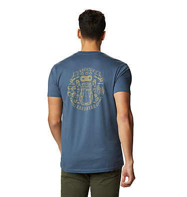 Men's MHW Gear™ Short Sleeve T-Shirt MHW Gear™ Short Sleeve T | 492 | XL, Zinc, back