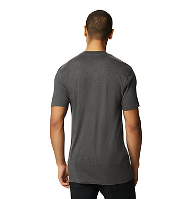 Men's Geo Marker™ Short Sleeve T-Shirt Geo Marker™ Short Sleeve T | 011 | M, Heather Black, back