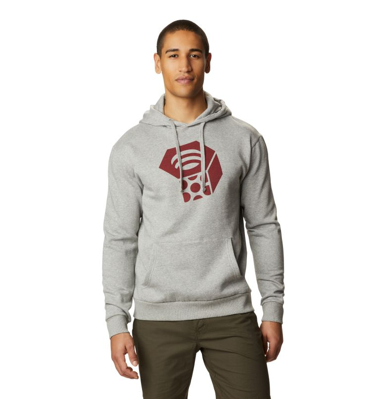 MHW Logo™ Pullover Hoody | 074 | S Men's MHW Logo™ Pullover Hoody, Heather Manta Grey, front