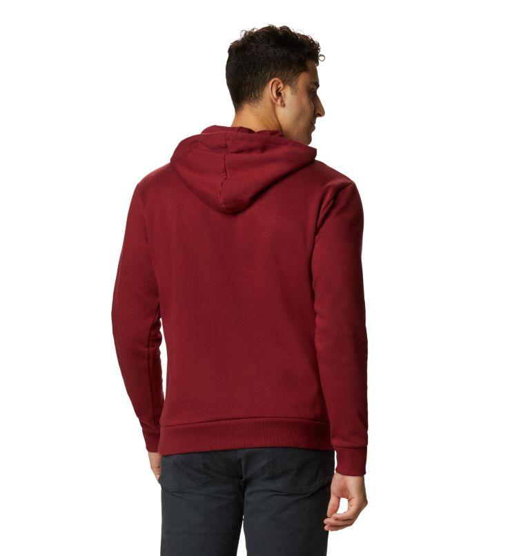 MHW Logo™ Pullover Hoody | 831 | M Men's MHW Logo™ Pullover Hoody, Desert Red, back