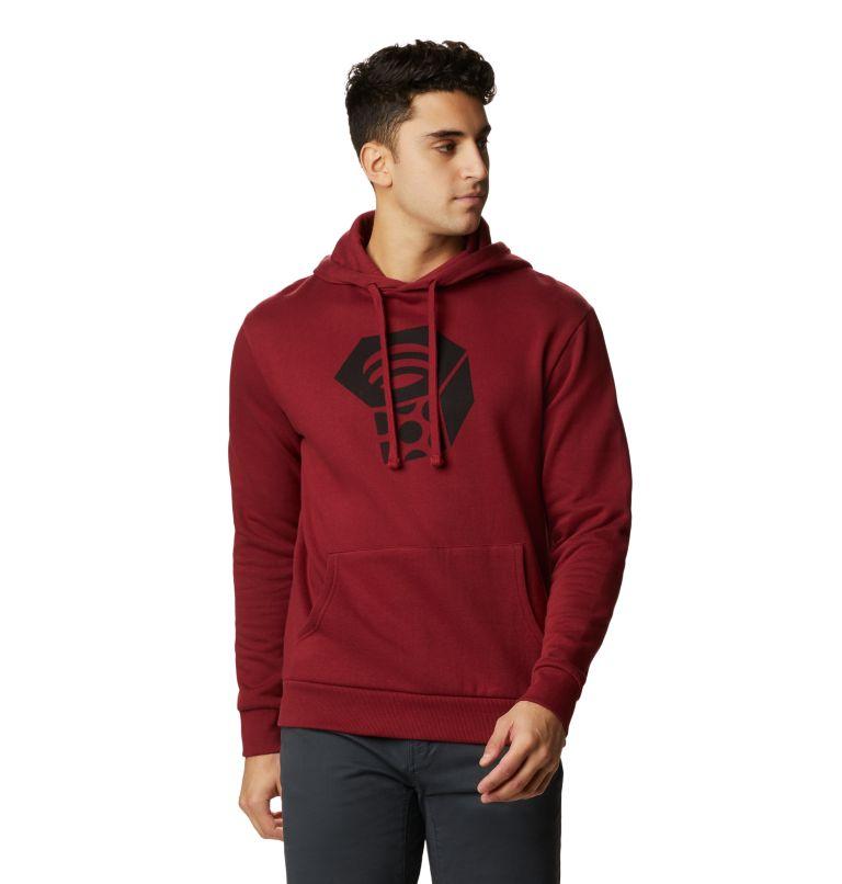 MHW Logo™ Pullover Hoody | 831 | M Men's MHW Logo™ Pullover Hoody, Desert Red, front