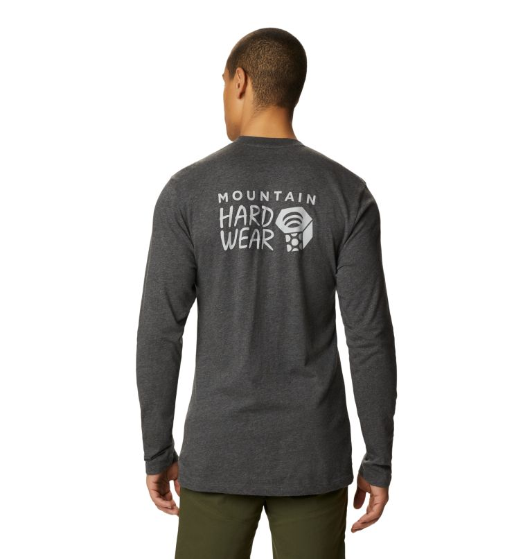 Men's MHW Logo™ Long Sleeve T-Shirt Men's MHW Logo™ Long Sleeve T-Shirt, back