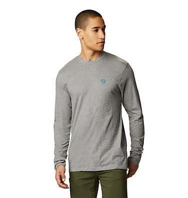 Men's MHW Logo™ Long Sleeve T-Shirt MHW Logo™ Long Sleeve T | 831 | L, Heather Manta Grey, front