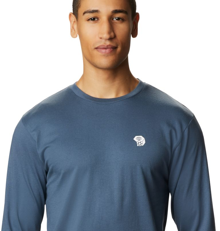 MHW Logo™ Long Sleeve T | 492 | L T-shirt à manches longues MHW Logo™ Homme, Zinc, a1
