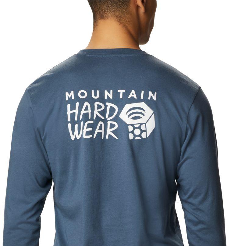 MHW Logo™ Long Sleeve T | 492 | L T-shirt à manches longues MHW Logo™ Homme, Zinc, a2