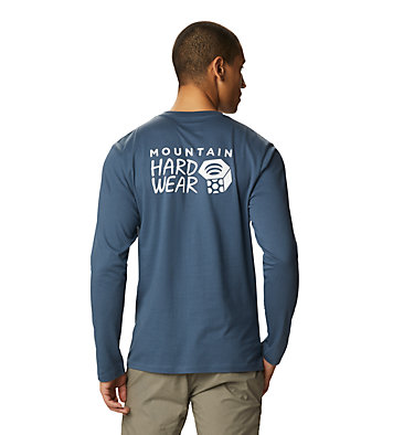 Men's MHW Logo™ Long Sleeve T-Shirt MHW Logo™ Long Sleeve T | 831 | L, Zinc, back