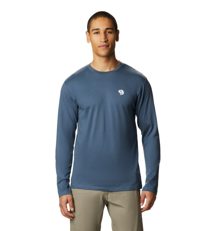 MHW Logo™ Long Sleeve T | 492 | L T-shirt à manches longues MHW Logo™ Homme, Zinc, front