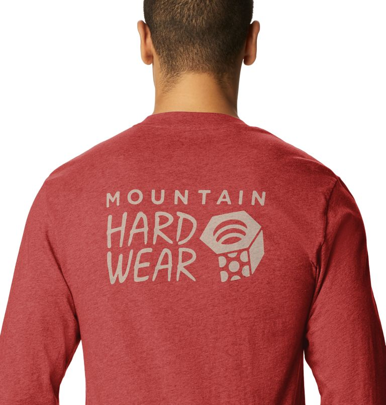 MHW Logo™ Long Sleeve T | 831 | S T-shirt à manches longues MHW Logo™ Homme, Desert Red, a2