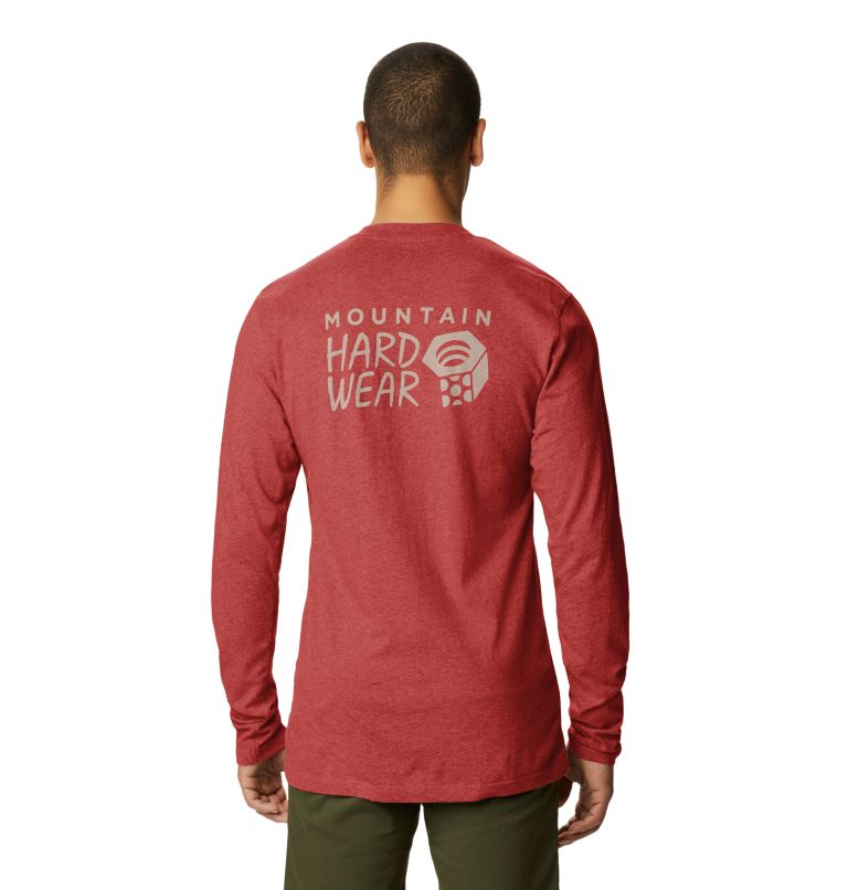 MHW Logo™ Long Sleeve T | 831 | S T-shirt à manches longues MHW Logo™ Homme, Desert Red, back