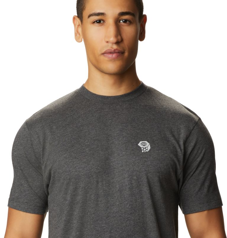 MHW Logo™ Short Sleeve T | 011 | L Men's MHW Logo™ Short Sleeve T-Shirt, Heather Black, a1