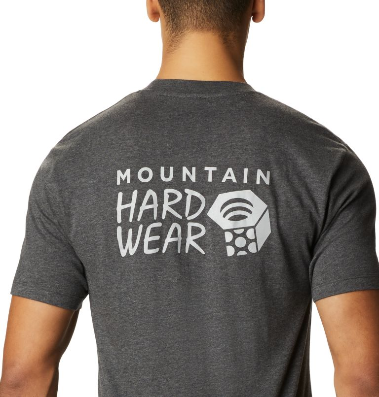 MHW Logo™ Short Sleeve T | 011 | L Men's MHW Logo™ Short Sleeve T-Shirt, Heather Black, a2