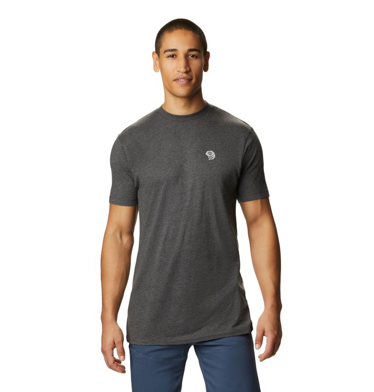 MHW Logo™ Short Sleeve T | 011 | L Men's MHW Logo™ Short Sleeve T-Shirt, Heather Black, front