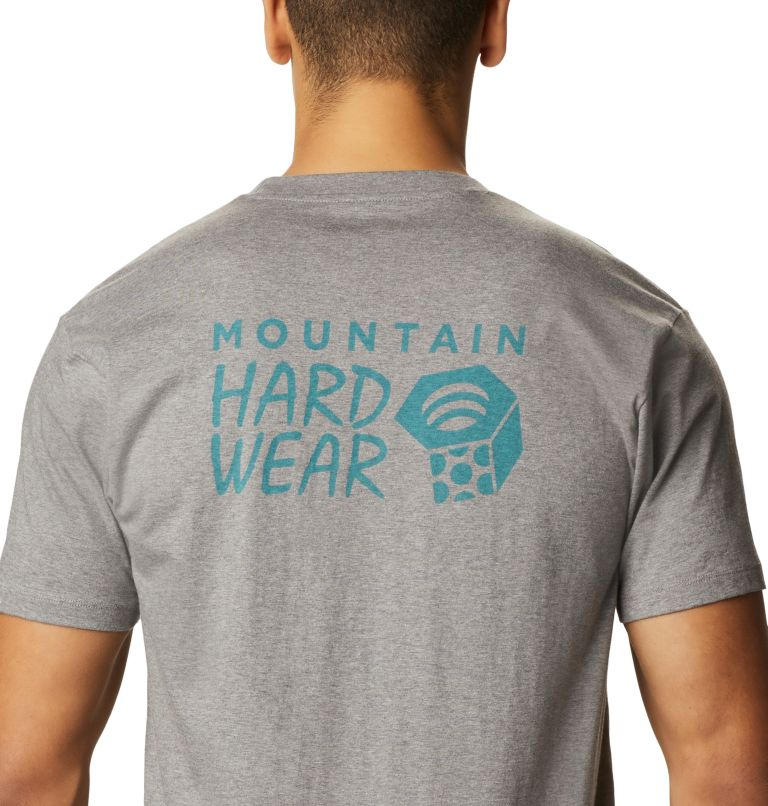 MHW Logo™ Short Sleeve T | 074 | S Men's MHW Logo™ Short Sleeve T-Shirt, Heather Manta Grey, a3