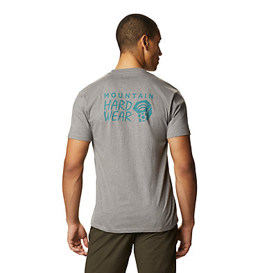 Men's MHW Logo™ Short Sleeve T-Shirt MHW Logo™ Short Sleeve T | 011 | L, Heather Manta Grey, back