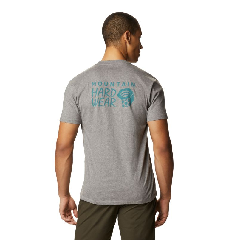MHW Logo™ Short Sleeve T | 074 | S Men's MHW Logo™ Short Sleeve T-Shirt, Heather Manta Grey, back