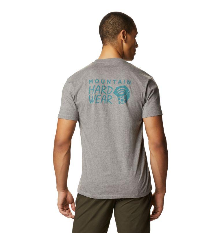 MHW Logo™ Short Sleeve T | 074 | S Men's MHW Logo™ Short Sleeve T-Shirt, Heather Manta Grey, back