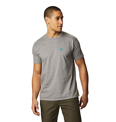 Men's MHW Logo™ Short Sleeve T-Shirt MHW Logo™ Short Sleeve T | 011 | L, Heather Manta Grey, front
