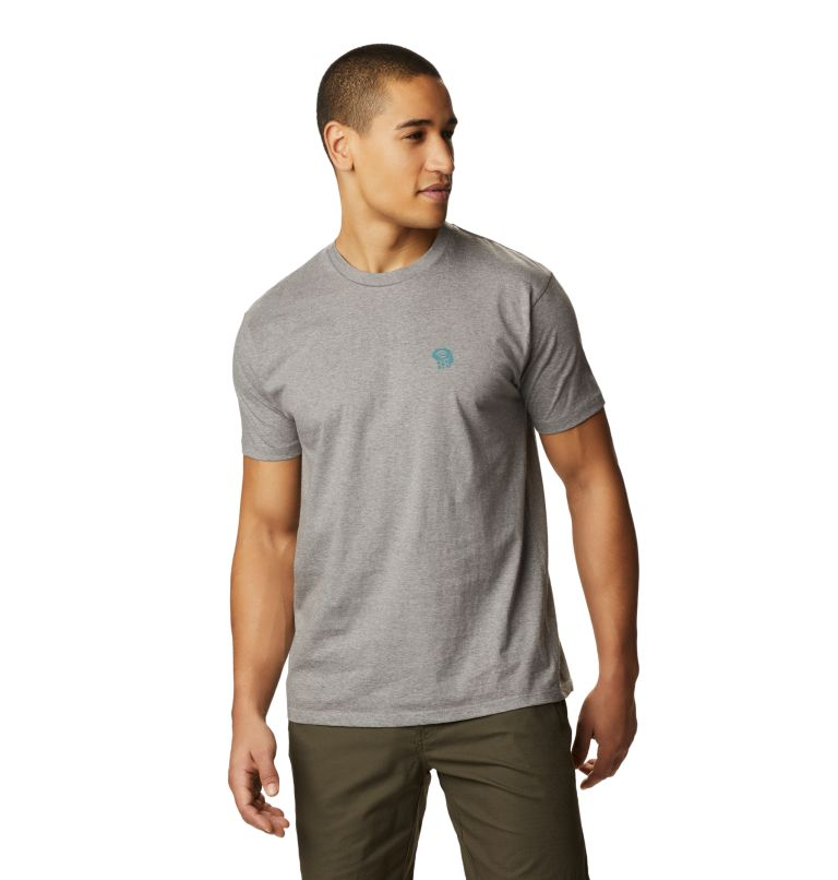 MHW Logo™ Short Sleeve T | 074 | S Men's MHW Logo™ Short Sleeve T-Shirt, Heather Manta Grey, front