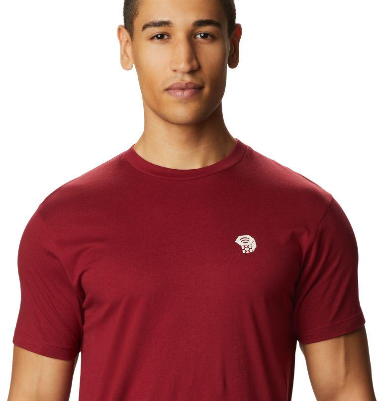 MHW Logo™ Short Sleeve T | 831 | S Men's MHW Logo™ Short Sleeve T-Shirt, Desert Red, a1